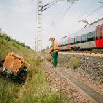 Jährliche Pflege an Bahnstrecken